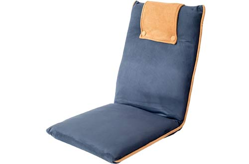 Padded Floor Chair for Meditation, TV Watching or Gaming