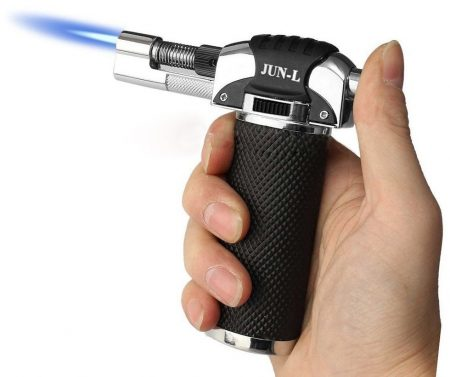 JUN-L Micro Butane Gas Torch Lighter