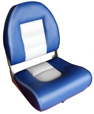 Leader Accessories New High Back Folding Boat Seat