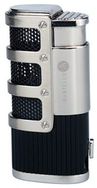 Mantello Catador Triple Jet Flame Butane Cigarette Torch Lighter