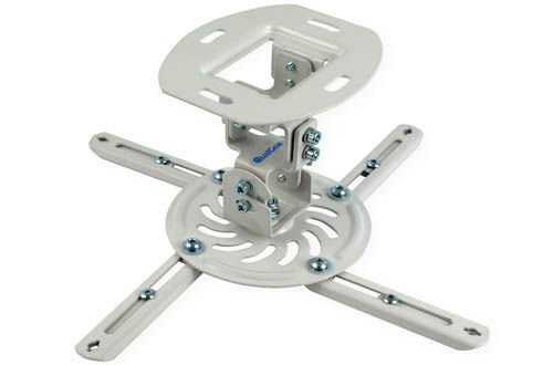 QualGear QG-PM-002-WHT-S Projector Ceiling Mount