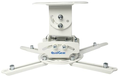 QualGear PRB-717-WHT Universal Ceiling Mount Projector