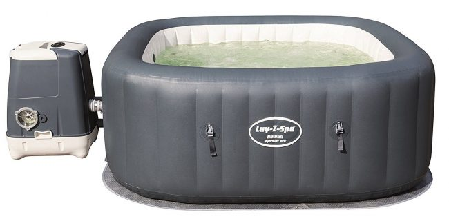 SaluSpa Hawaii HydroJet Pro Inflatable Hot Tub