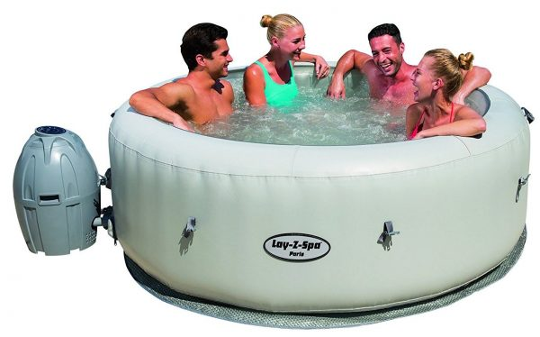 SaluSpa Paris AirJet Inflatable Hot Tub