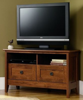 Sauder August Hill Corner Entertainment Stand