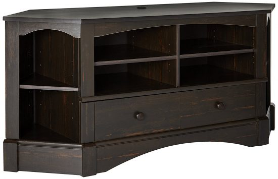 Sauder Harbor View Corner TV Stand