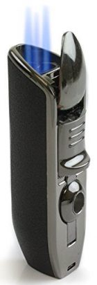 Scorch Torch Triple Jet Flame Butane Cigarette Torch Lighter