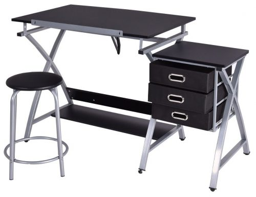 Tangkula Drafting Table Art & Craft Drawing Desk