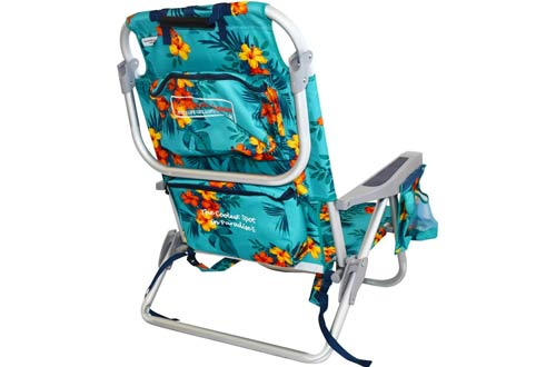 Tommy Bahama Backpack Beach Chairs/ Turquoise