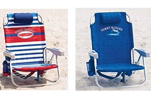 Two Tommy Bahama Backpack Cooler Chair