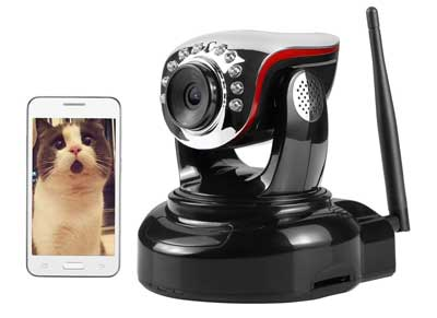 5. 720P HD Wireless Security IP Camera, Night Vision, Baby Pet Video Monitor Nanny Cam by Nexgadget