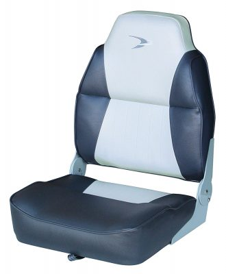 Wise Contoured Folding High Back Boat Seat