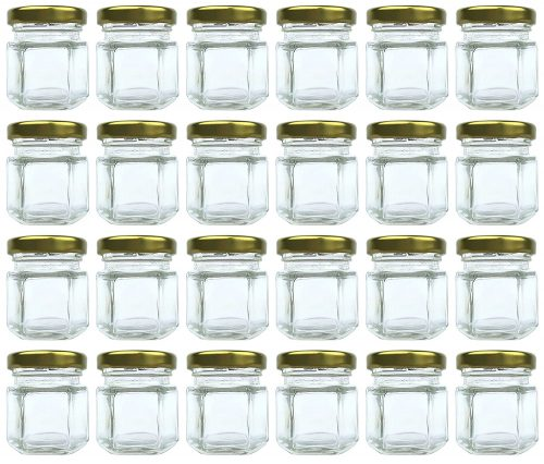 1.5 oz Hexagon Jars