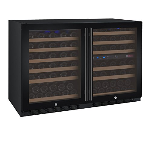 112 Bottle Built-In Three-Zone Wine Cooler