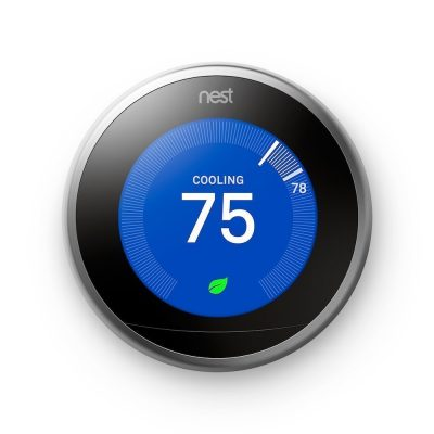 9. Nest 3rd Generation Learning Thermostat - Smart Thermostats