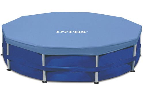 Intex 15-Foot Round Metal Frame Pool Cover