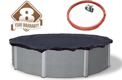 Blue Wave Bronze Round Above Ground Pool Winter Cover
