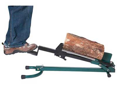 7. Quality Craft Foot-Operated Log Splitter