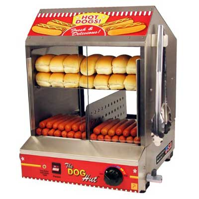 9 Paragon Hot Dog Hut Steamer
