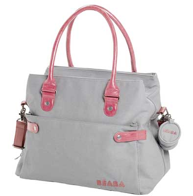 2. BEABA Stockholm Best Leather Diaper Bag
