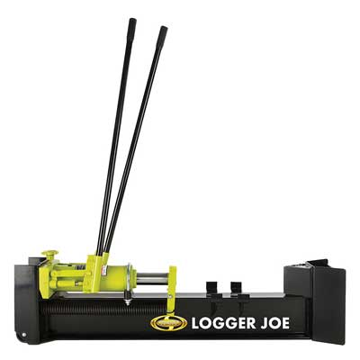 Best Manual Log Splitter - Logger Joe 10 Ton Hydraulic Log Splitter