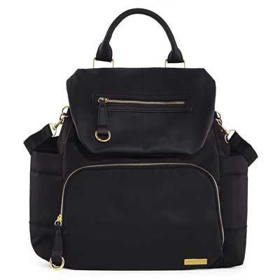 6. Skip Hop Chelsea Downtown Chic Diaper Backpack