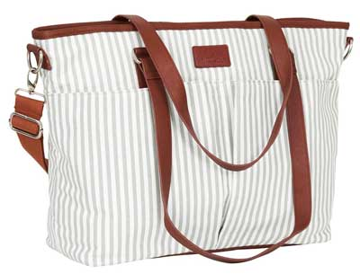 7. Diaper Bag by Hip Cub - Designer Messenger
