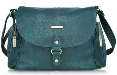 3. Timi & Leslie Metro Messenger Diaper Bag