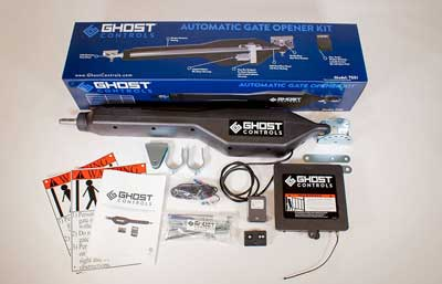 3. Ghost Controls TSS1 Heavy-Duty Single Automatic Gate Opener