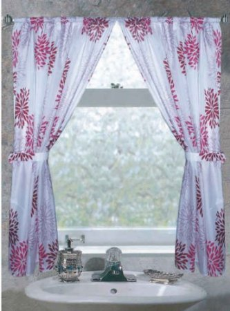 Bathroom Window Curtain Set