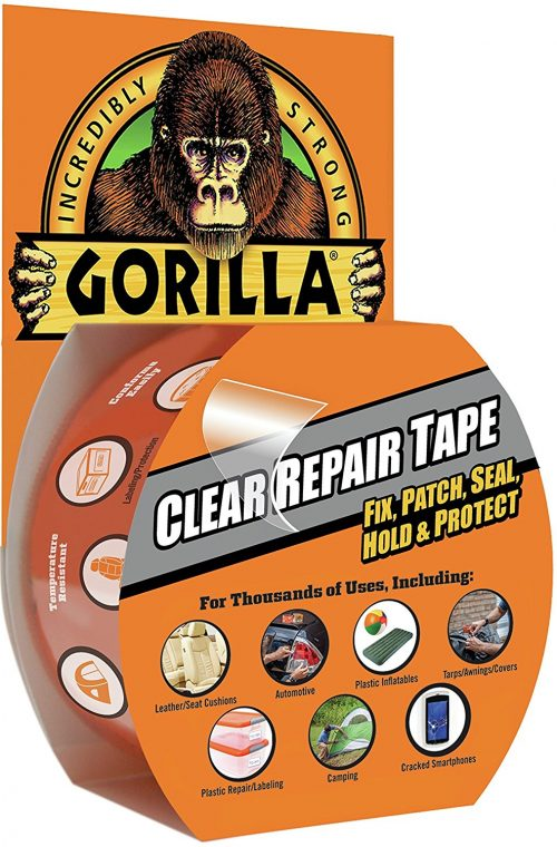 Gorilla Clear Repair Duct Tape