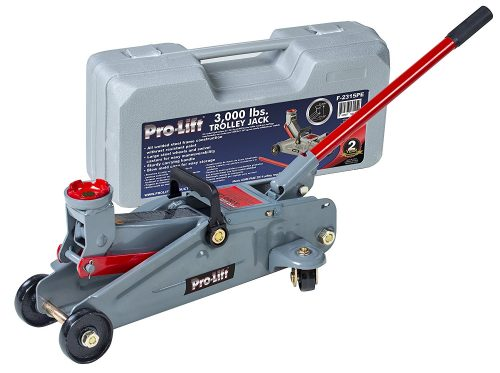 Grey Hydraulic Trolley Jack