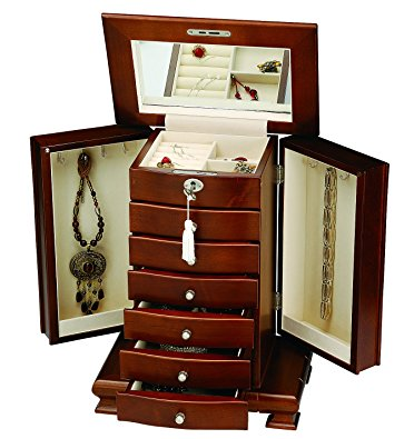 Handcrafted Luxury Wooden Jewelry Box