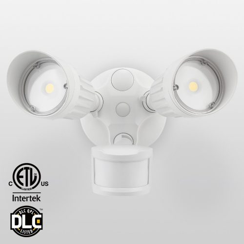 Head Motion Activated LED Outdoor Security Light