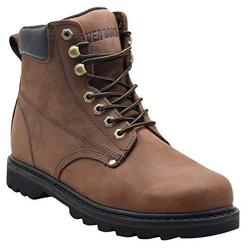Leather Insulated Work Boots