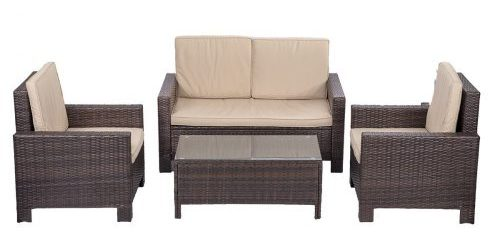 Outdoor Patio Sofa Set-Outdoor Patio Sofas