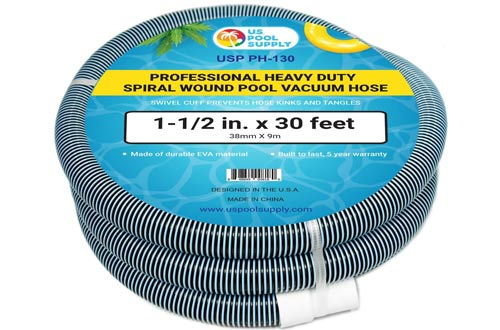 heavy duty spiral wound swimming pool vacuum hose