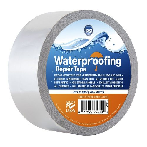 Silver Waterproofing Repair Tape