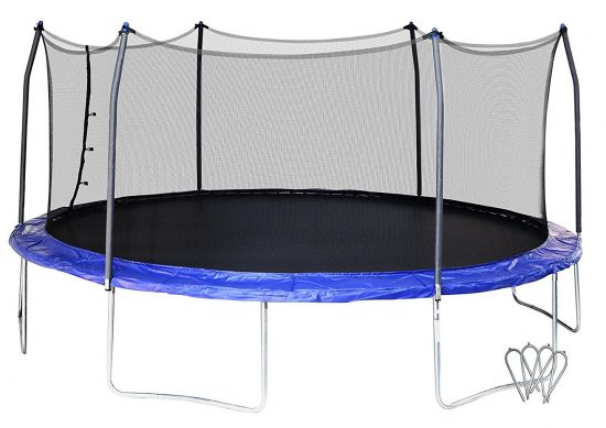 Skywalker SWTC17BWS Oval Trampoline and Enclosure