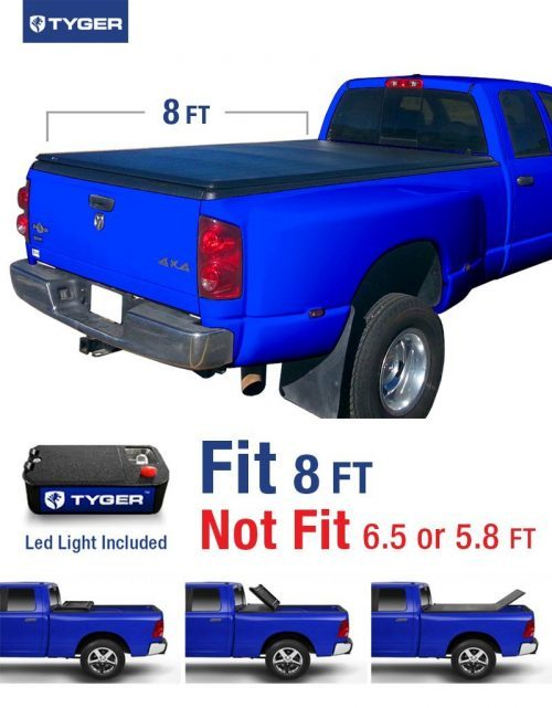 Tonneau Bed Cover Fits