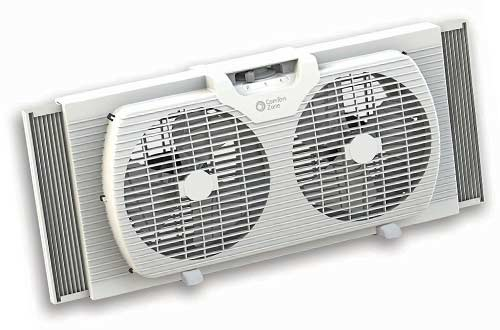 Comfort Zone CZ319WT Portable Twin Window Fan