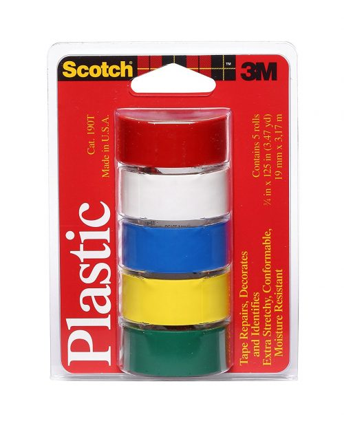 Waterproof Vinyl Plastic Colored Tape