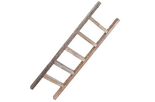Reclaimed Old Wooden Ladder 4 Foot Rustic Barn Wood