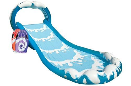 Intex Surf N Slide Inflatable Play Center, 174 in X 66 in X 64