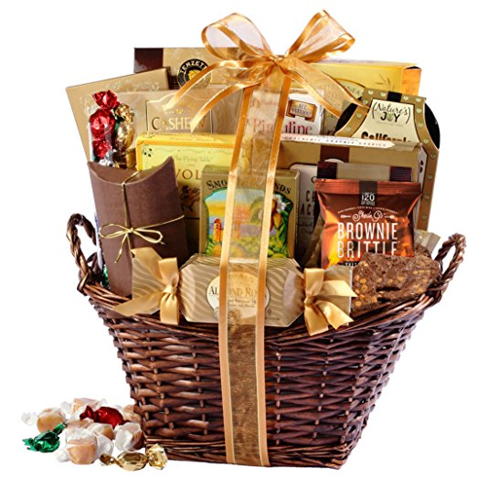 1. Broadway Basketeers Gourmet Gift Set