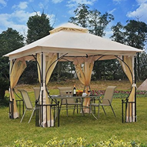 Wedding Canopy, Generic O-8-O-4292-O ter W/N Garden Patio arty Sh Gazebo Canopy o Weddi 10 x 10 Garden Wedding Party Shelter