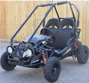 TRAILMASTER KIDS GO KART XRX MINI BLACK - Off Road Go-Kart