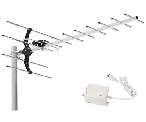 1byone 80 Miles Digital Amplified Outdoor / Roof HDTV Antenna