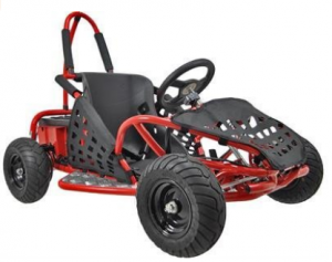 MotoTec MT-GK-01 Red Off Road Go Kart - Off Road Go-Kart
