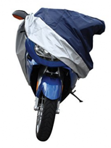 Pilot CC-6334 Blue/Silver X-Large Motorcycle Cover
